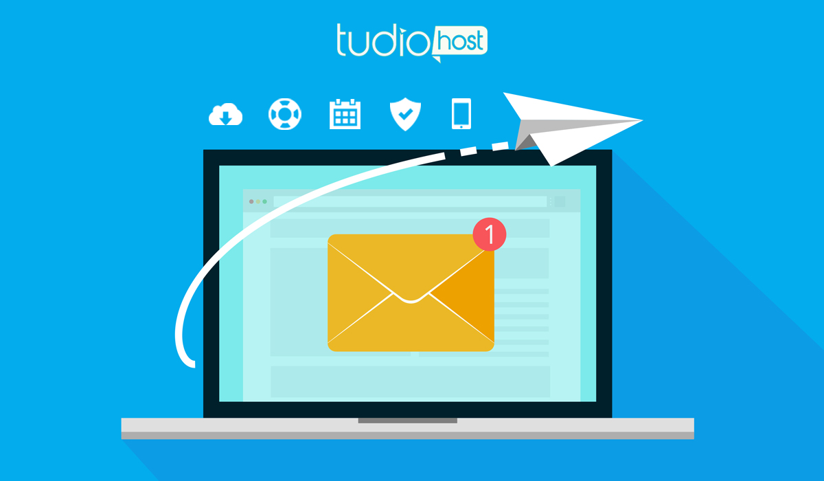 Packs et offres de messagerie Tudiohost